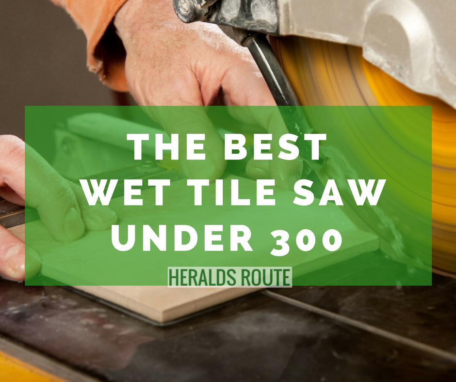best wet tile saw under 300